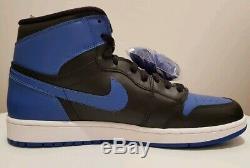Nike Air Jordan 1 Retro High Royal Blue Autographed Signed UDA Upper Deck