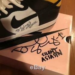 Nike Dunk High Pro SB Daniel Shimizu US12 Macross Roy Fokker Skull VF-1S Signed