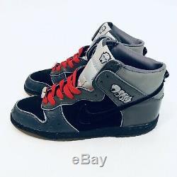 Nike SB Dunk High MF Doom Size 9.5 Authentic SIGNED BY Jabbawockeez KB Very Rare