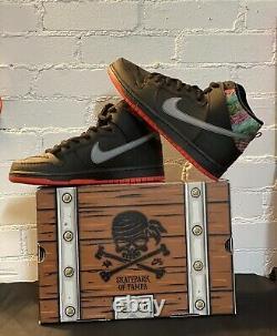 Nike SB Dunk High X Sean Cliver SPoT Gasparilla Special Box Autographed