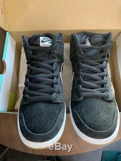 Nike Sb Dunk High Nigel Sylvester SOMP Size 9.5 DS autographed Box