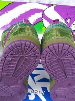 Nike Sb Dunk High Skunk 420 Sz 10 Ds +nike Sb Skunk Deck Signed Todd Bratrud