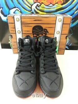 Nike Sb Dunk High X Sean Cliver SPOT Gasparilla Special Box Autographed Rare