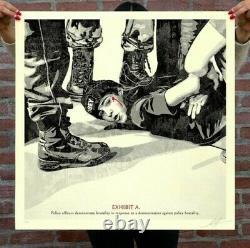 Obey The High Cost Of Free Speech Signed & Numbered Screen Print