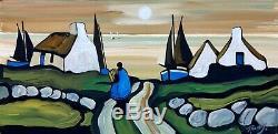 Original Irish Art Ireland- J. P. Rooney Highly Collectable. Ireland