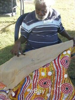 PADDY SIMS TJAPALTJARRI Highly sought after 122cm 167cm