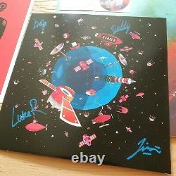 PSYCHEDELIC PORN CRUMPETS HIGH VISCERAL PART ONE 2LP SIGNED King Gizzard