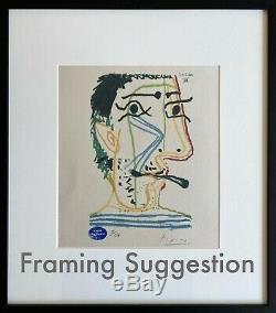 Pablo Picasso LE GOUT DU BONHEUR. High Quality Lithograph