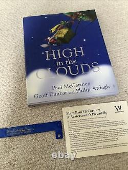 Paul McCartney SIGNED High In The Clouds, Wristband & Invitation, Waterstones