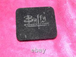 Rare Black Official Buffy The Vampire Slayer Sunnydale High Signed Ring Angel +