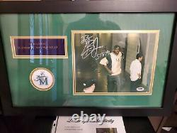 Rare Lebron James Signed High School Photo