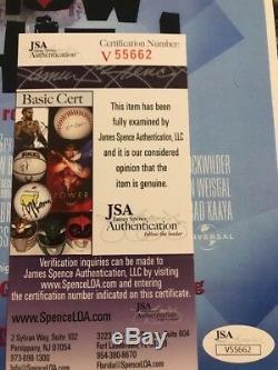 Redman Method Man Signed Autographed How High Movie Poster Jsa Coa