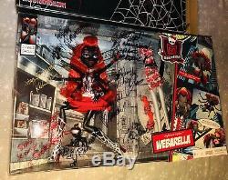 SDCC 2013 Monster High Doll Webarella SIGNED TO ROBERT By Creators & Cast NIB