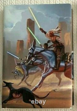 SIGNED 1st EditionStar WarsHIGH REPUBLIC Light of the JediCharles Soule OOP