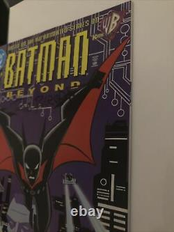 SIGNED Batman Beyond #1 1st Print 1st Appearance High Grade! +2 BATMAN KEY BOOKS