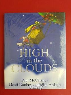 SIGNED Paul McCartney High in the clouds book Waterstones UK signing receipt