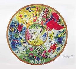 Sale! Marc Chagall Signed Paris Opera Ceiling High Quaity! S/N With Coa Print
