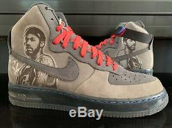Signed 2007 Nike Air Force 1 High Supreme'07 Sheed Rasheed Wallace Auto 10.5 Ds
