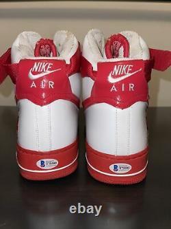 Signed P. E. Nike Air Force 1 High Rasheed Wallace Sz13