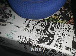 Signed! Reves Paris x Air Kiy 85 High LA Exclusive Sz 10 (WORN 1x)