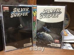 Silver Surfer 1 & 2 Marvel Now 150 Francavilla Variant High Grade Signed COA