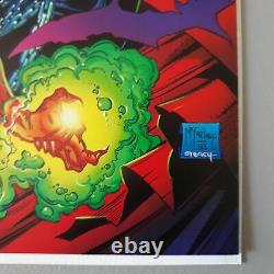 Spawn # 1 Signed By Todd Mcfarlane Very High Grade