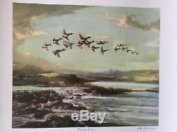 Street art print british artist gee vaucher flying high signed offset lithograph