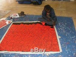 THOMAS TJAPALTJARRI 150 cm x 150cm TINGARI CYCLE Highly Collectible