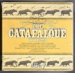 The Catafalque Works by Edward Gorey Signed (SOFTCOVER)- High Grade