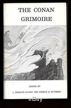The Conan Grimoire by L. Sprague de Camp SIGNED Roy Krenkel Art- High Grade