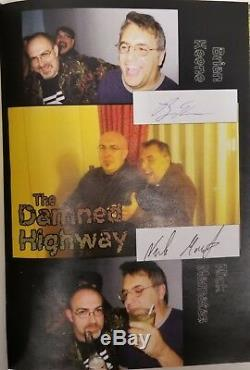 The Damned Highway by Brian Keene Signed LTD Copy XVII- High Grade