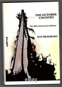 The October Country by Ray Bradbury Signed Limited Slipcased- High Grade