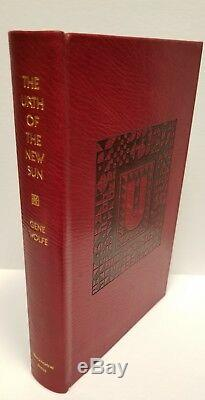 The Urth of the New Sun by Gene Wolfe Signed Ltd #16/21 Full Leather- High Grade