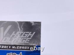 Tracy McGrady TMAC 2017 Panini Vanguard High Voltage /25 On Card Auto Autograph