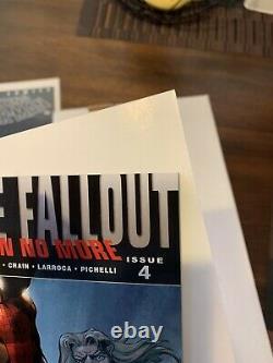 Ultimate Fallout #4 -1st Print-1st app Miles Morales SIGNED LARROCA High Grade