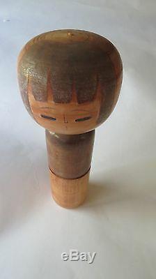 VINTAGE RARE KoKeShi Japanese Signed Large Size 10 High Doll