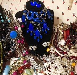 VTG HIGH END MASSIVE Lot 210 PEARLS 14KJuliet Oscar Tara Mei Givency Signed No1