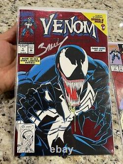 Venom Lethal Protector #1-6! Gorgeous HIGH GRADE set! Signed By Mark Bagley