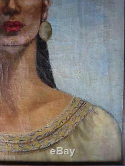 Vintage 1946 Baekeland Painting Ny Uk High Society Murder Daughter Law Bakelite