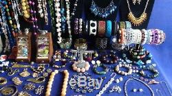 Vintage & Costume Jewelry Lot 14k Gold, 585, 925, High End, Signed, Quality