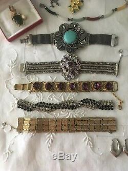 Vintage Lot Of High End And Designer Signed Costume Jewelry Sherman Selro +++