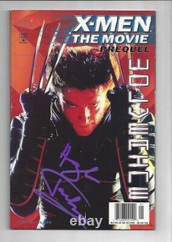 X-Men Movie Prequel Wolverine Hugh Jackman Autograph/Signed COA High Grade